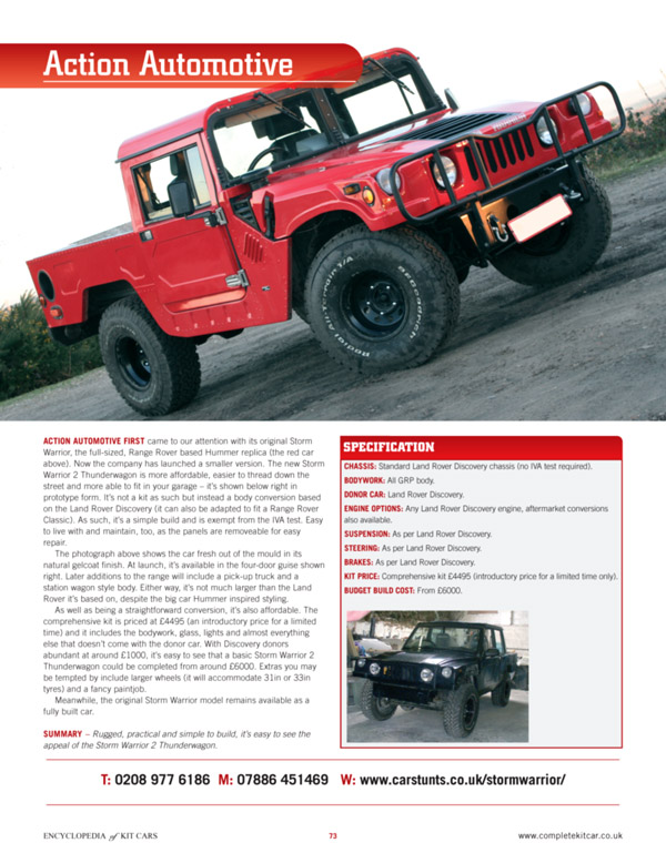 Complete Kit Car Magazine Uk